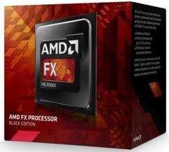 AMD FX-8350 CPU AM3 4.0GHz 8-Core Black Edition With Wraith Cooler